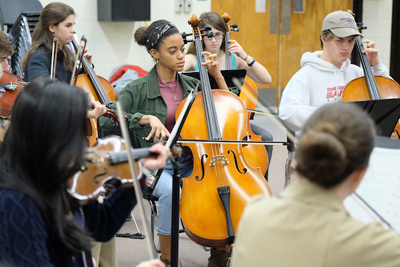 South Mecklenburg High School Chamber Orchestra
